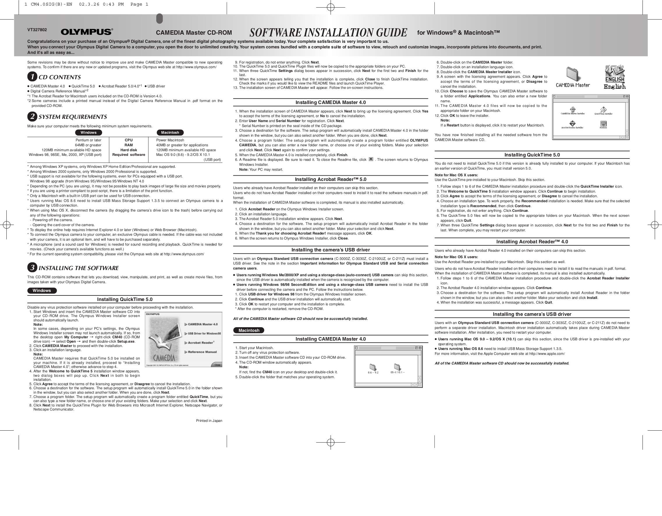 pdf for Olympus Other Auto-Connect software manual