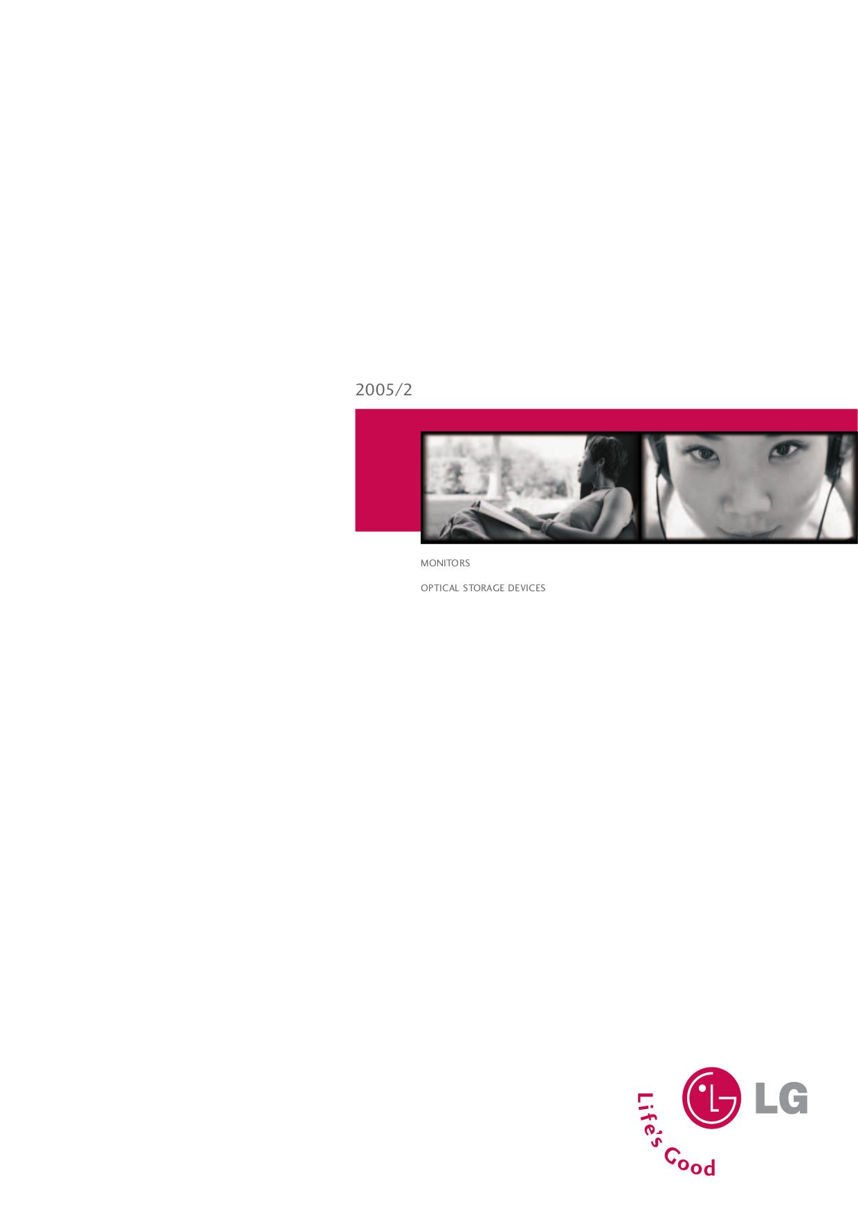 pdf for LG Monitor M1710S manual