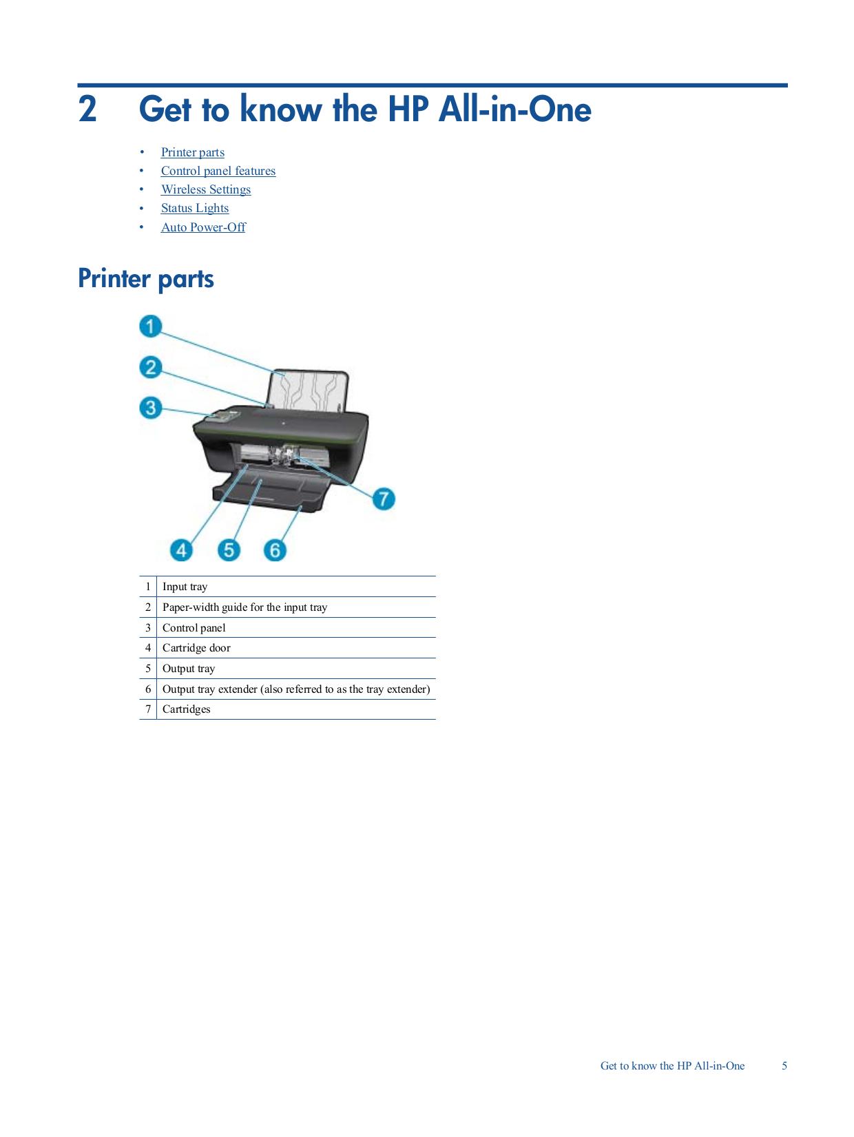 ... HP Multifunction Printer Deskjet 3050 pdf page preview ...