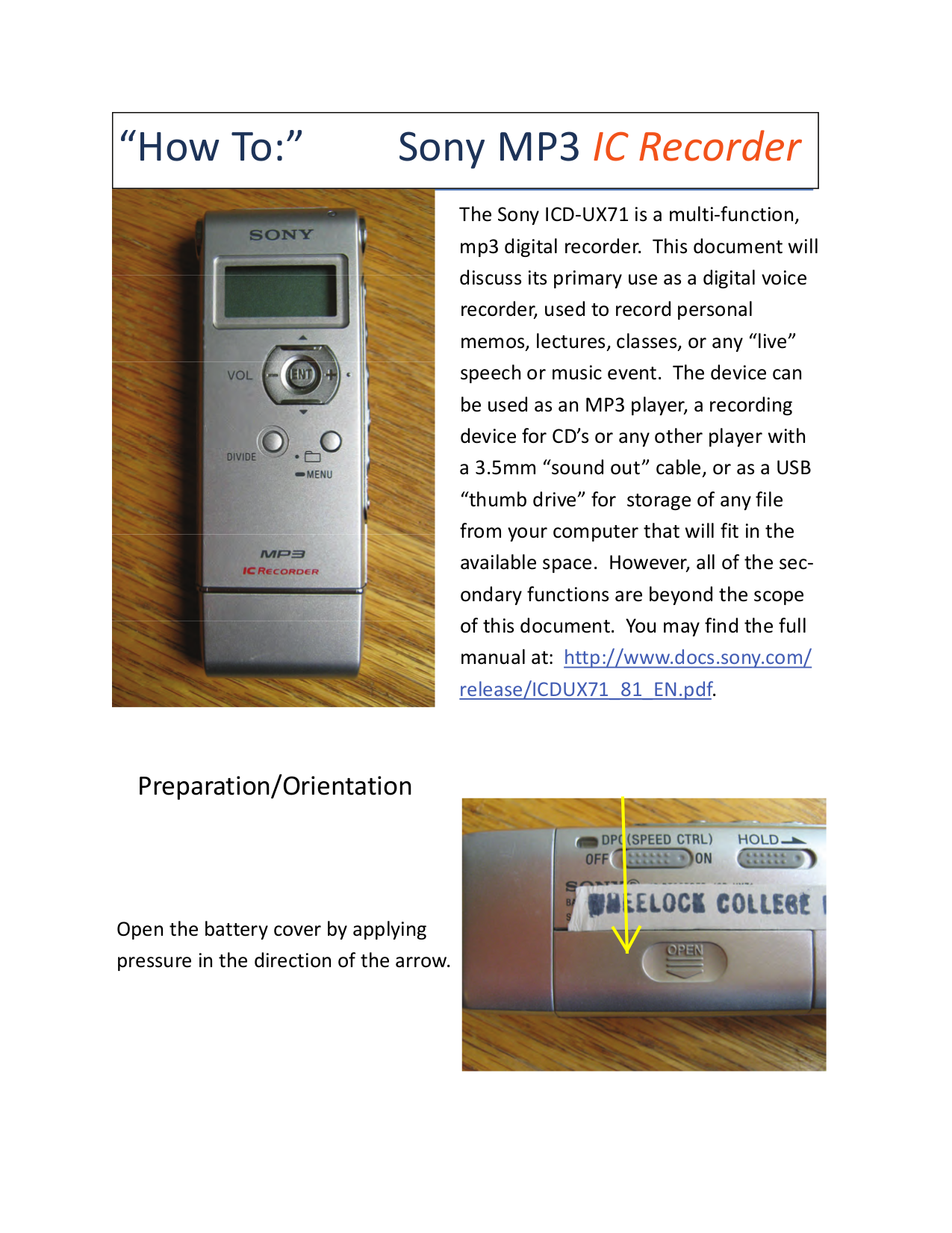 download free pdf for sony icd ux71 voice recorder manual rh umlib com sony ic recorder icd-ux71 manual sony mp3 ic recorder icd-ux71 instructions
