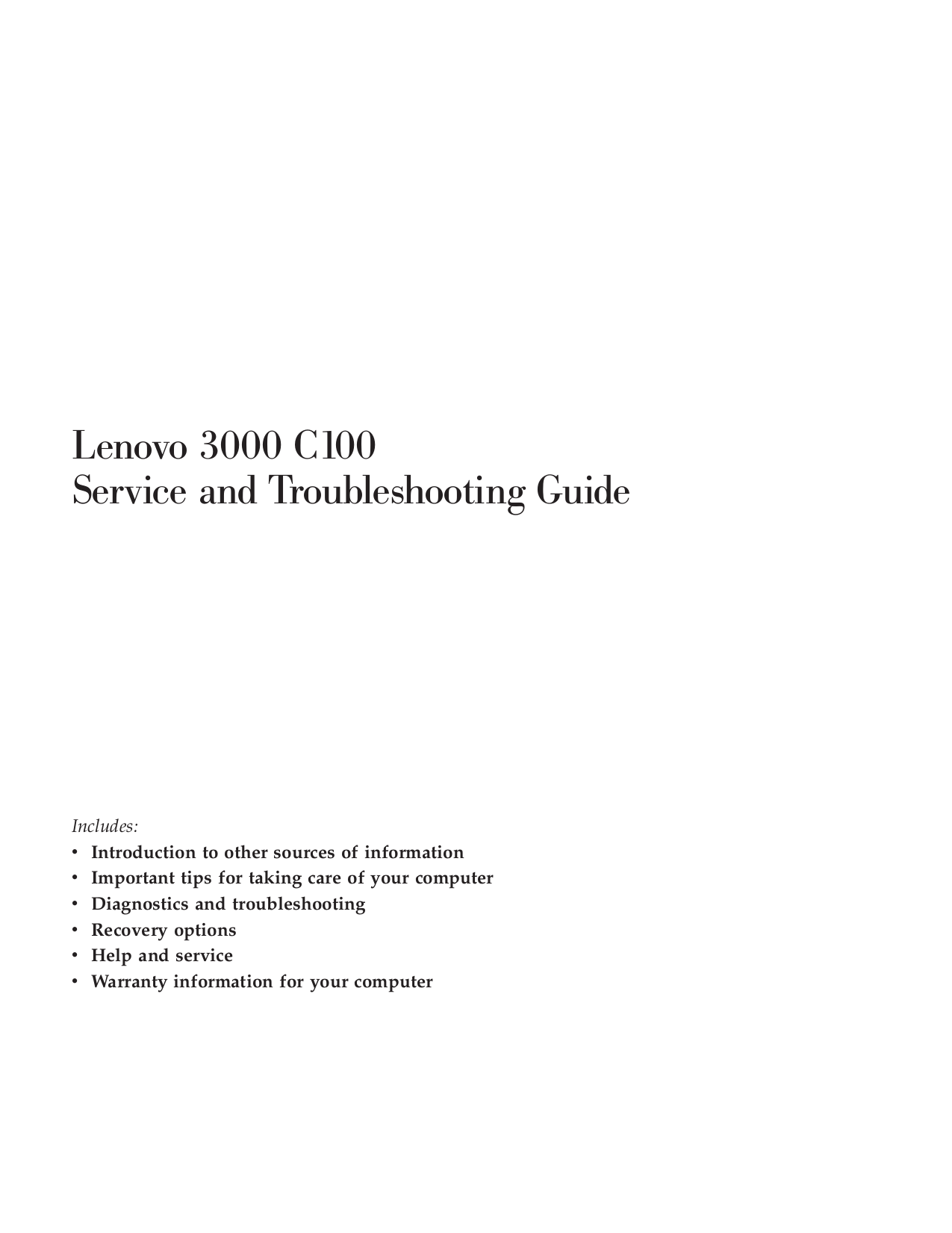 download free pdf for lenovo 3000 c100 0761 laptop manual rh umlib com Lenovo 3000 V1.0.0 Lenovo 3000 J Series