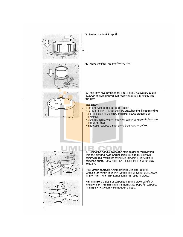 Pdf Manual For Braun Coffee Maker E40