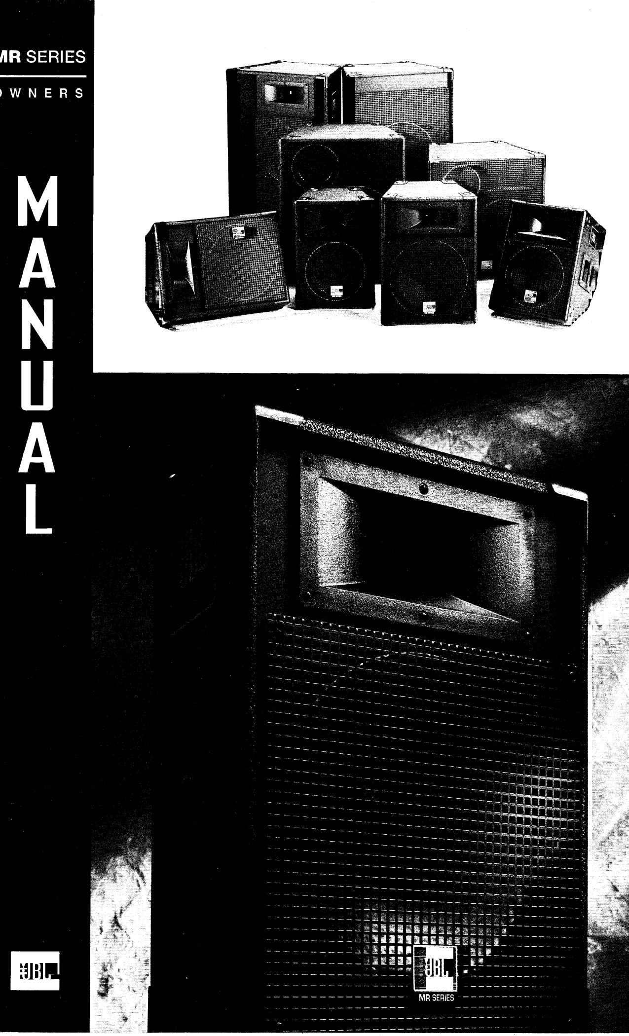 download free pdf for jbl mr center speaker manual. Black Bedroom Furniture Sets. Home Design Ideas