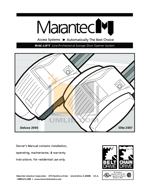Mac Lift Garage Door Opener Remote Fluidelectric