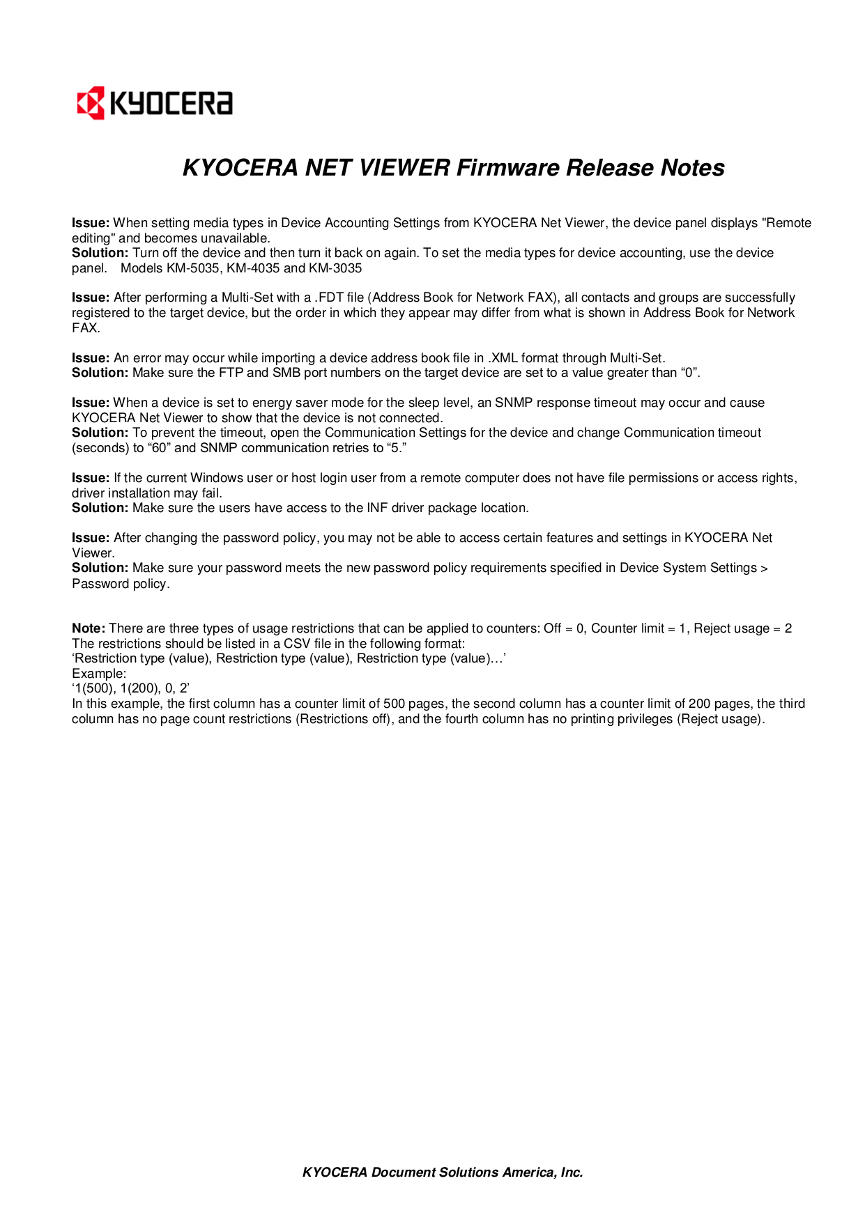 PDF manual for Kyocera Printer FS-C5025N