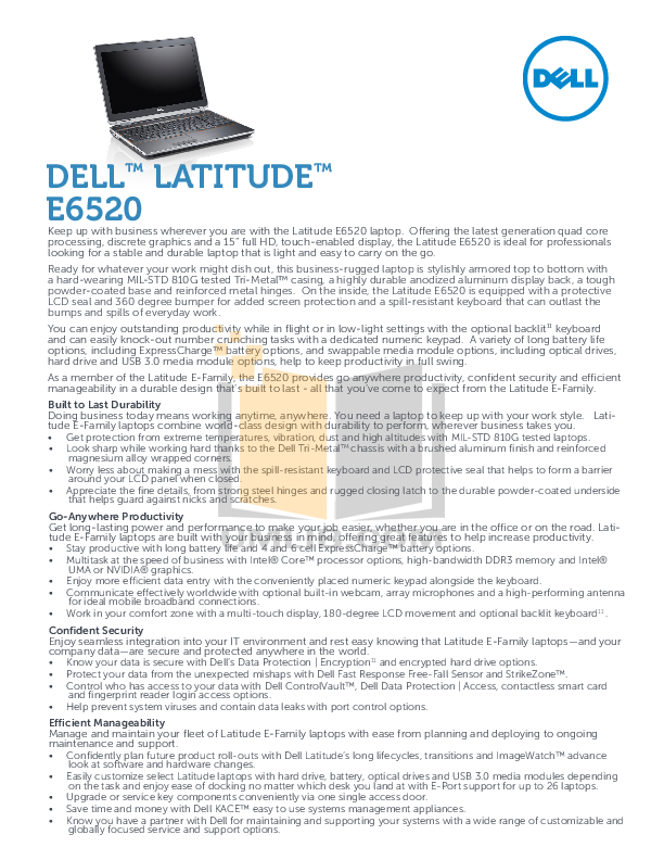 download free pdf for dell latitude e6520 laptop manual rh umlib com dell latitude e6520 service manual pdf dell latitude e6420 service manual