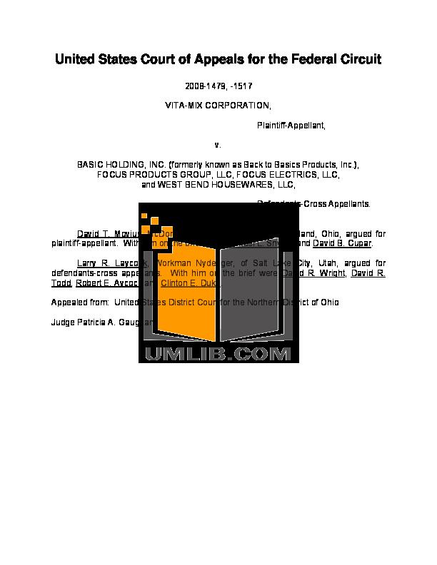 pdf for BacktoBasics Blender 5000 manual