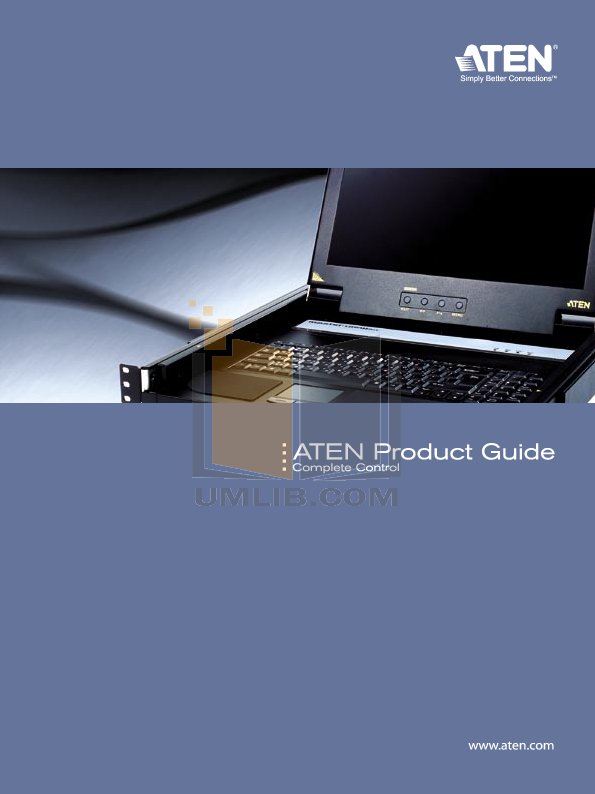 pdf for ATEN Other MasterView CS-1758 KVM Switch manual