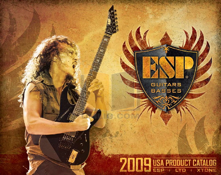 pdf for ESP Guitar WA-600 manual