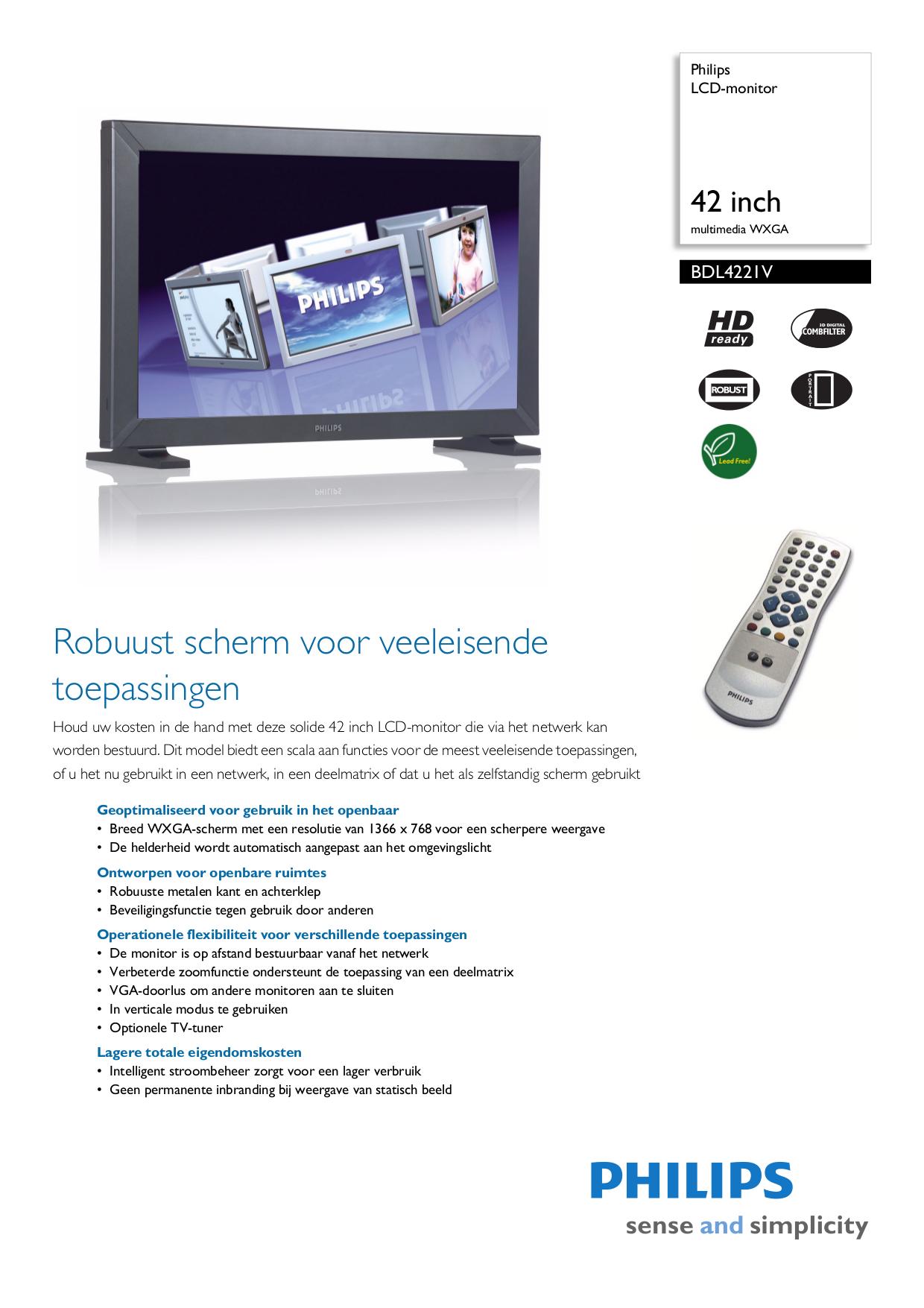 inch maat tv