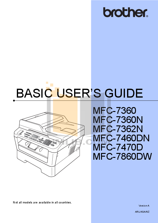 brother mfc 7360n printer manual