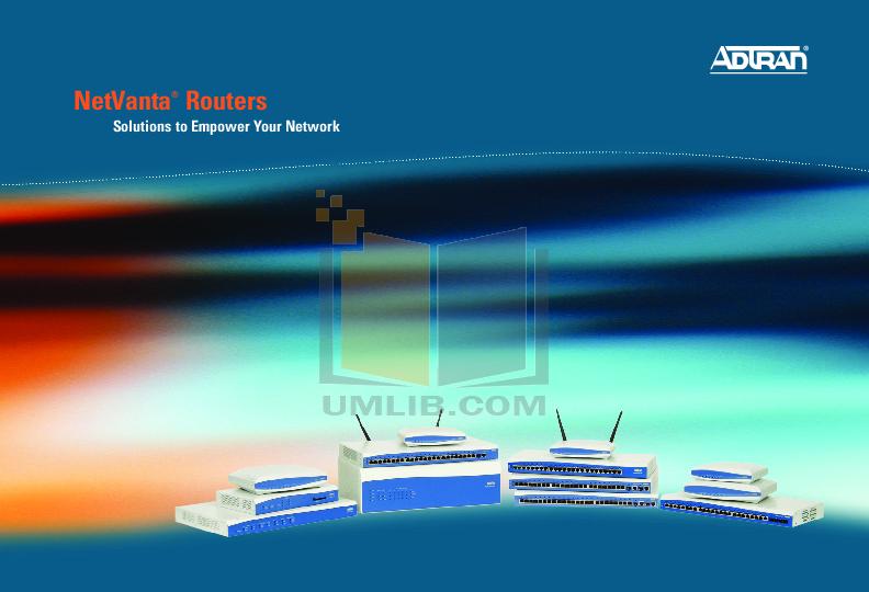 pdf for ADTRAN Switch NetVanta 1224ST manual