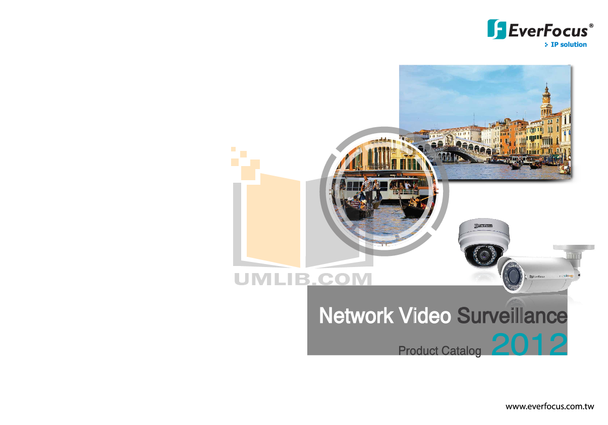 EverFocus Security Camera EDN800 pdf page preview