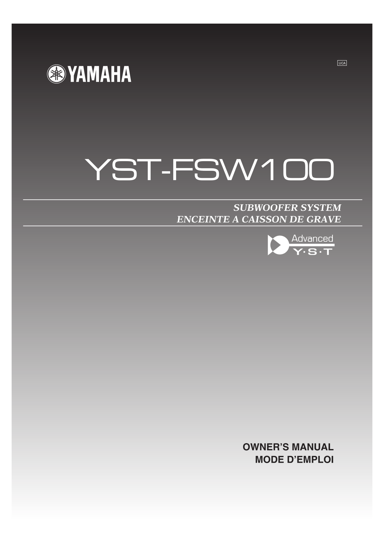... Array - download free pdf for yamaha yst sw100 subwoofer manual rh  umlib com