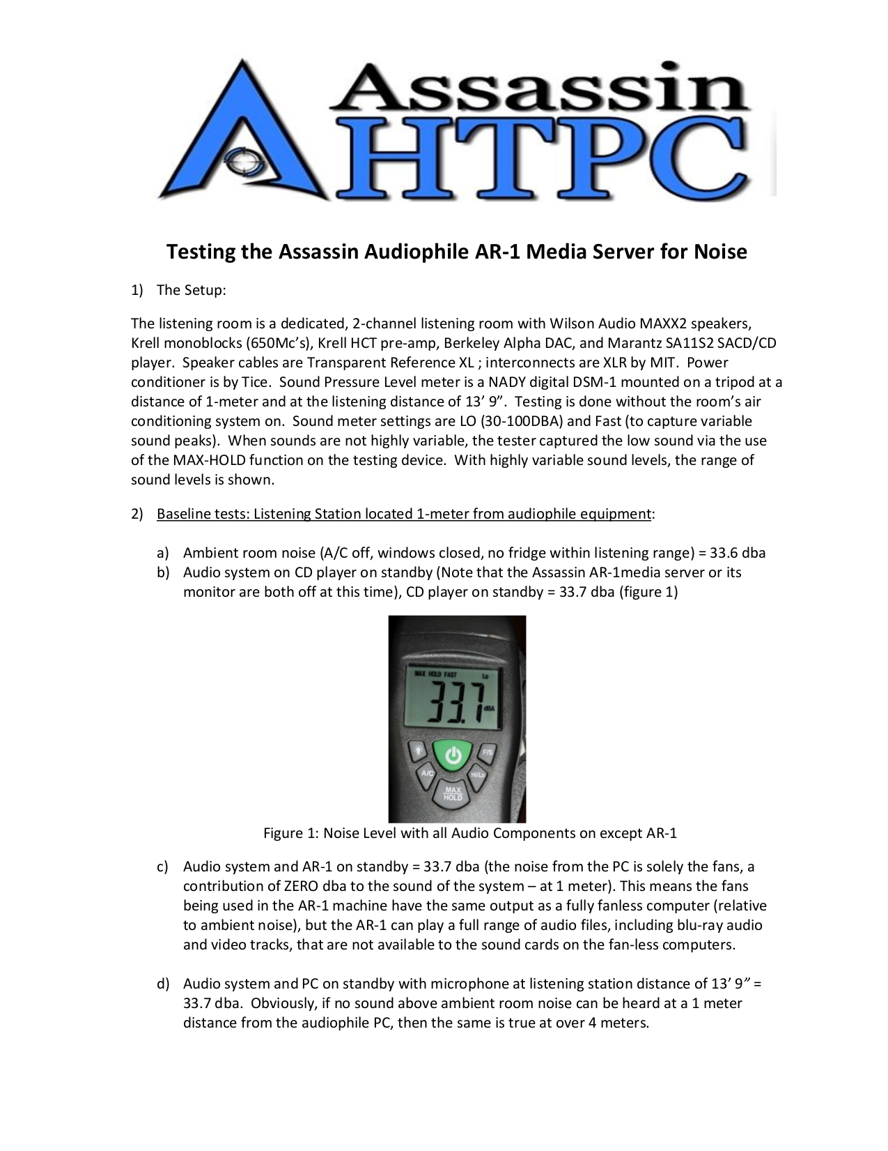 Download Free Pdf For Nady Dsm 1 Audio Sound Level Meter Other Manual Components Of A Schematic