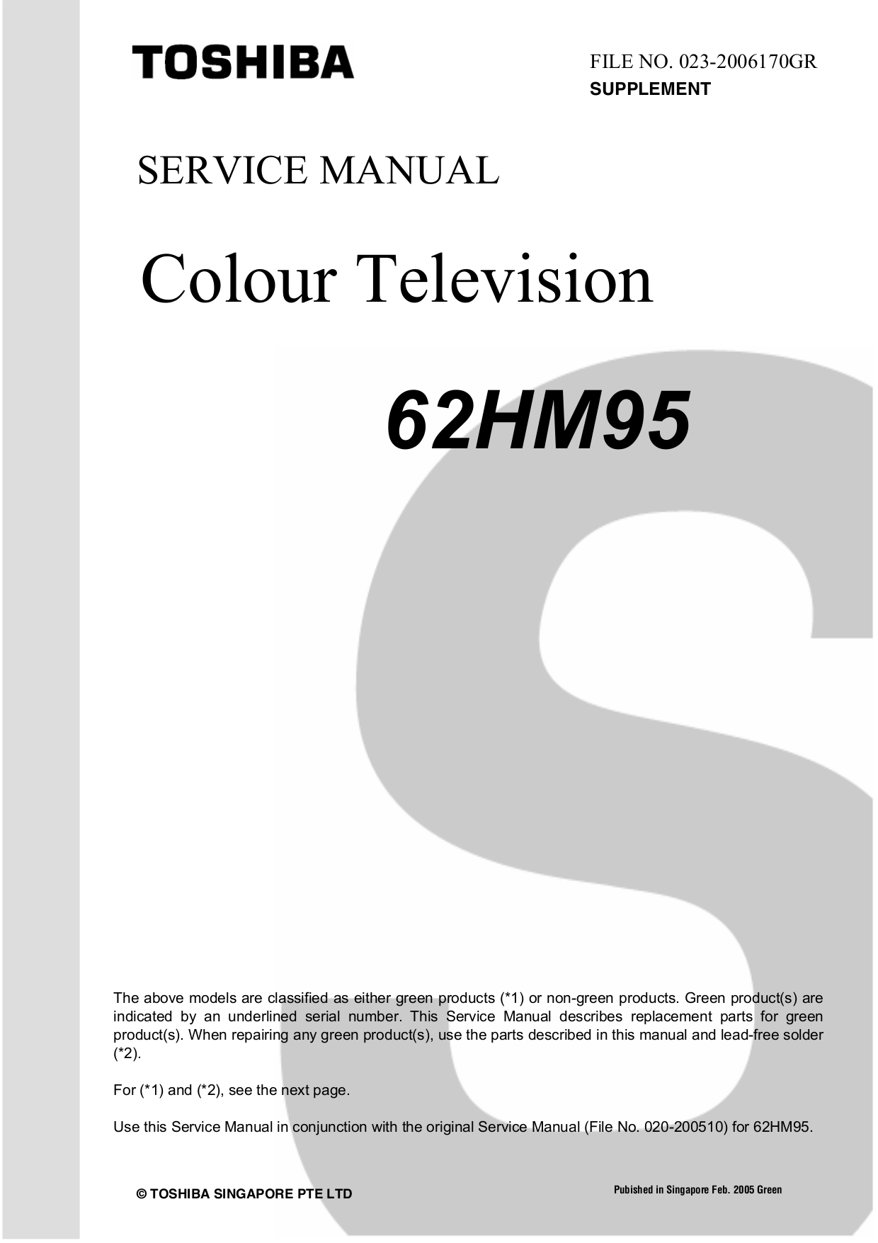 download free pdf for toshiba 62hm95 tv manual rh umlib com Toshiba 62 Inch DLP TV Toshiba 62HM95 Optical Engine