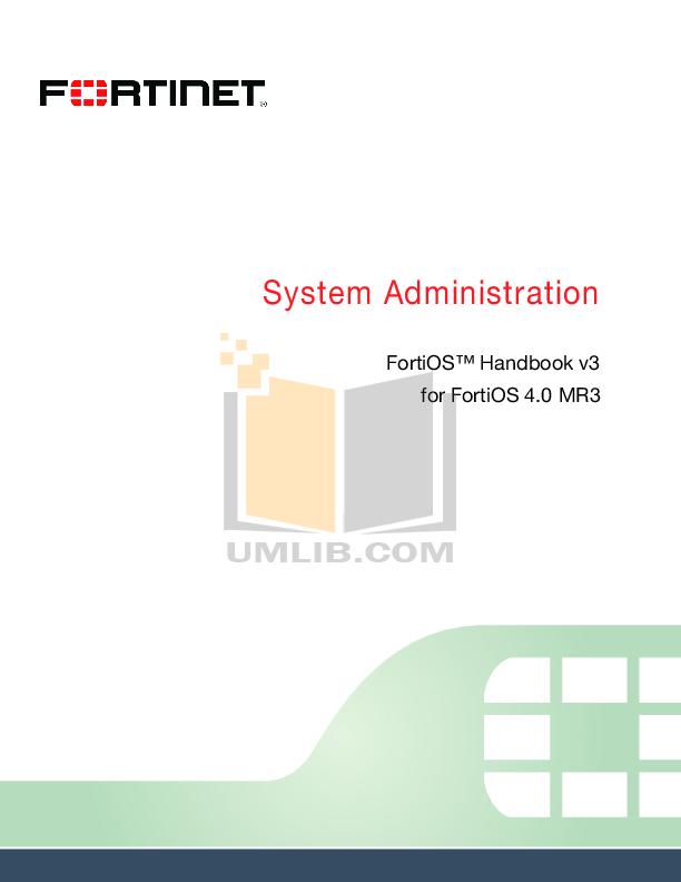 pdf for Fortinet Router FortiGate FortiGate-500 manual