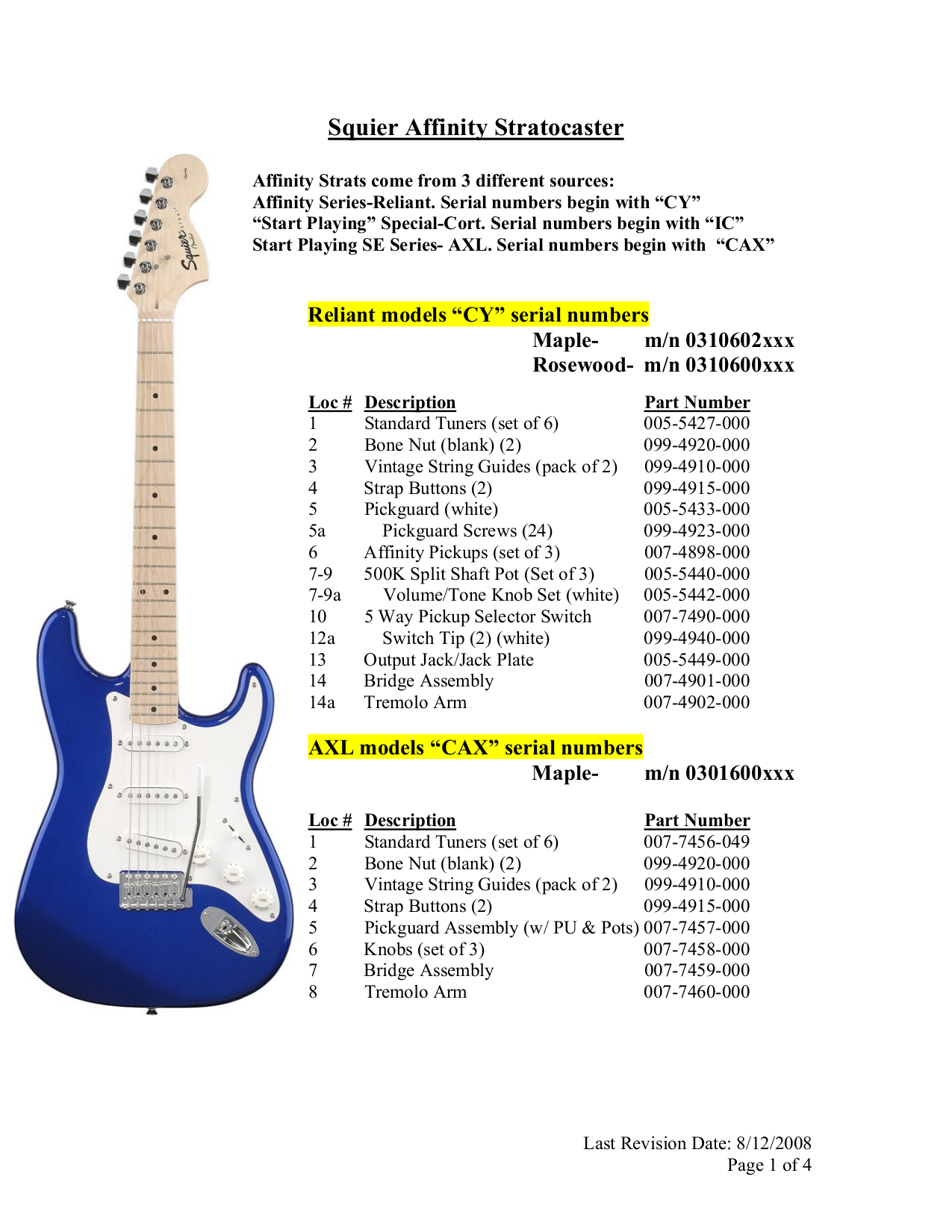 download free pdf for squier affinity strat maple guitar manual rh umlib com Maple 14 Code for Purchase