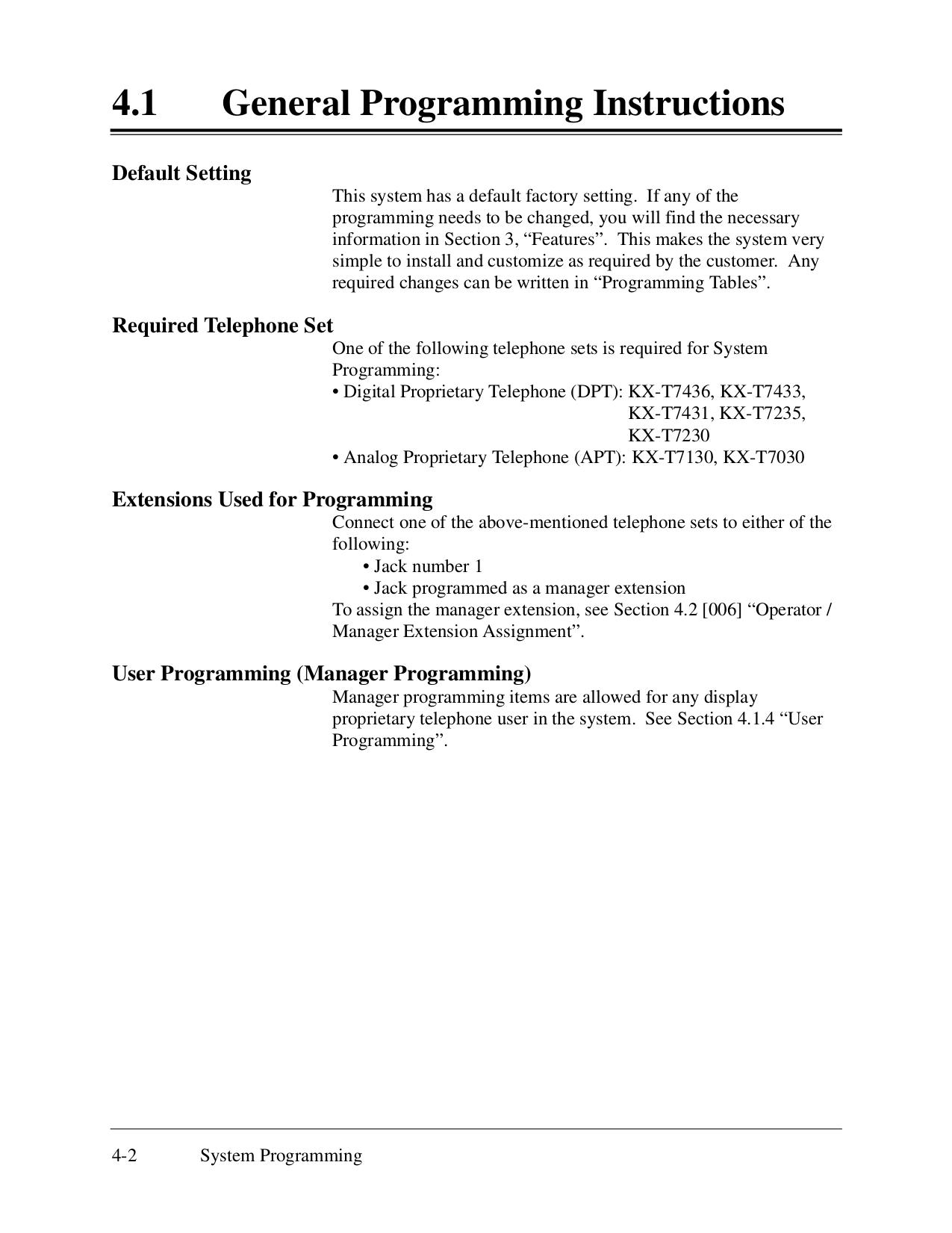 Panasonic kx-t7433 digital super hybrid system i need help in.
