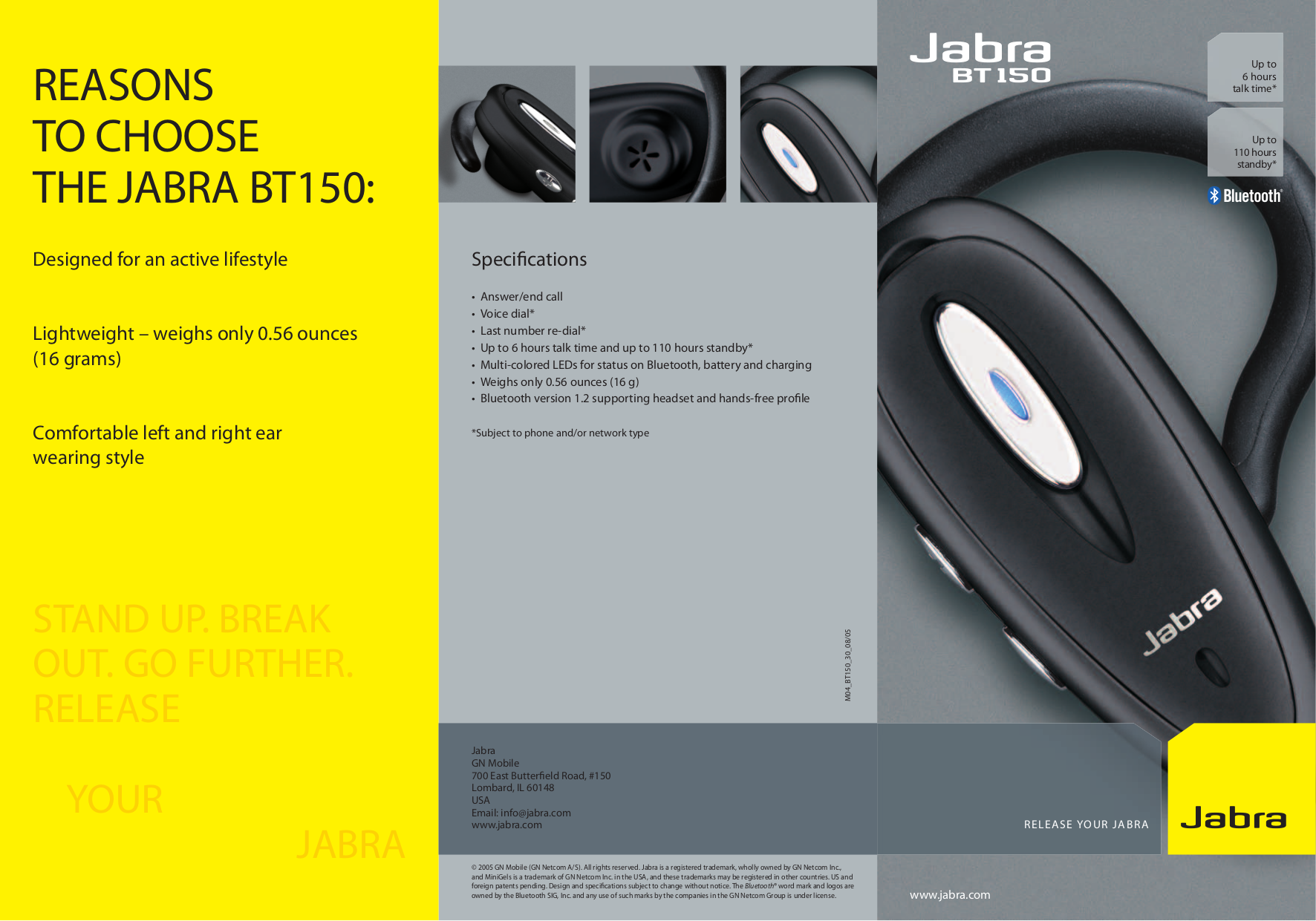 download free pdf for jabra bt150 headset manual rh umlib com Jabra Wave Bluetooth Instruction Manual Jabra Bluetooth Headphones Review