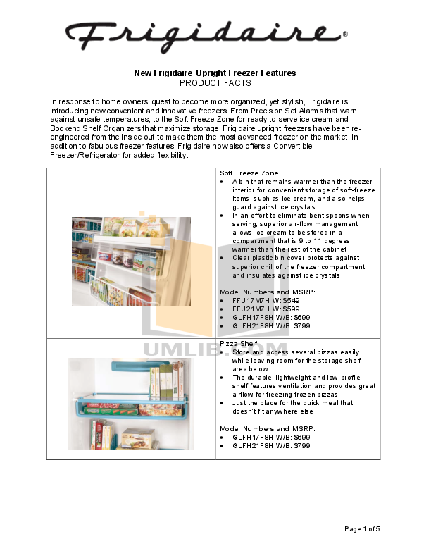 Frigidaire Freezer Manual Pdf - Wiring Diagram •