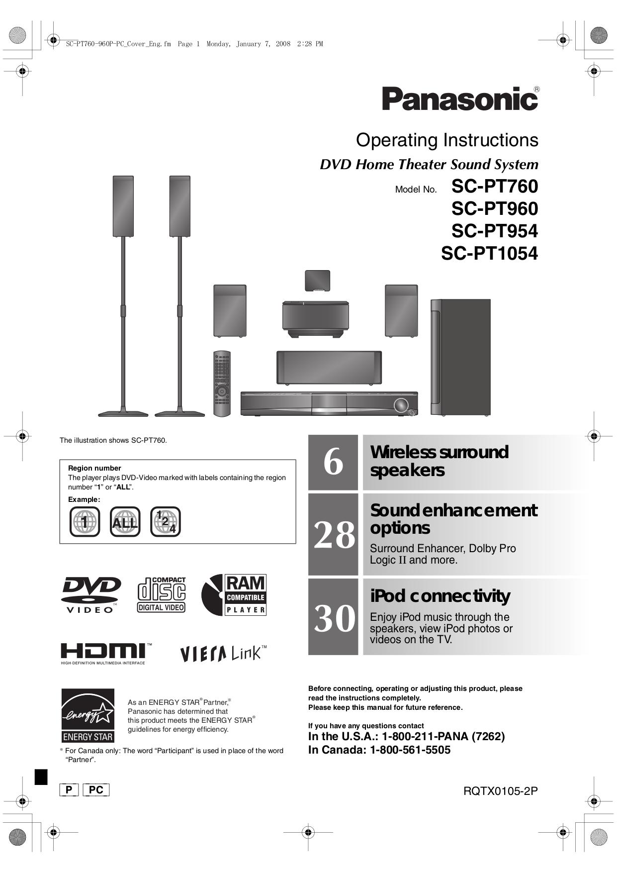 download free pdf for panasonic sc pm08 home theater manual rh umlib com panasonic home theater manual sa pt750 panasonic home theater manual sa ht670