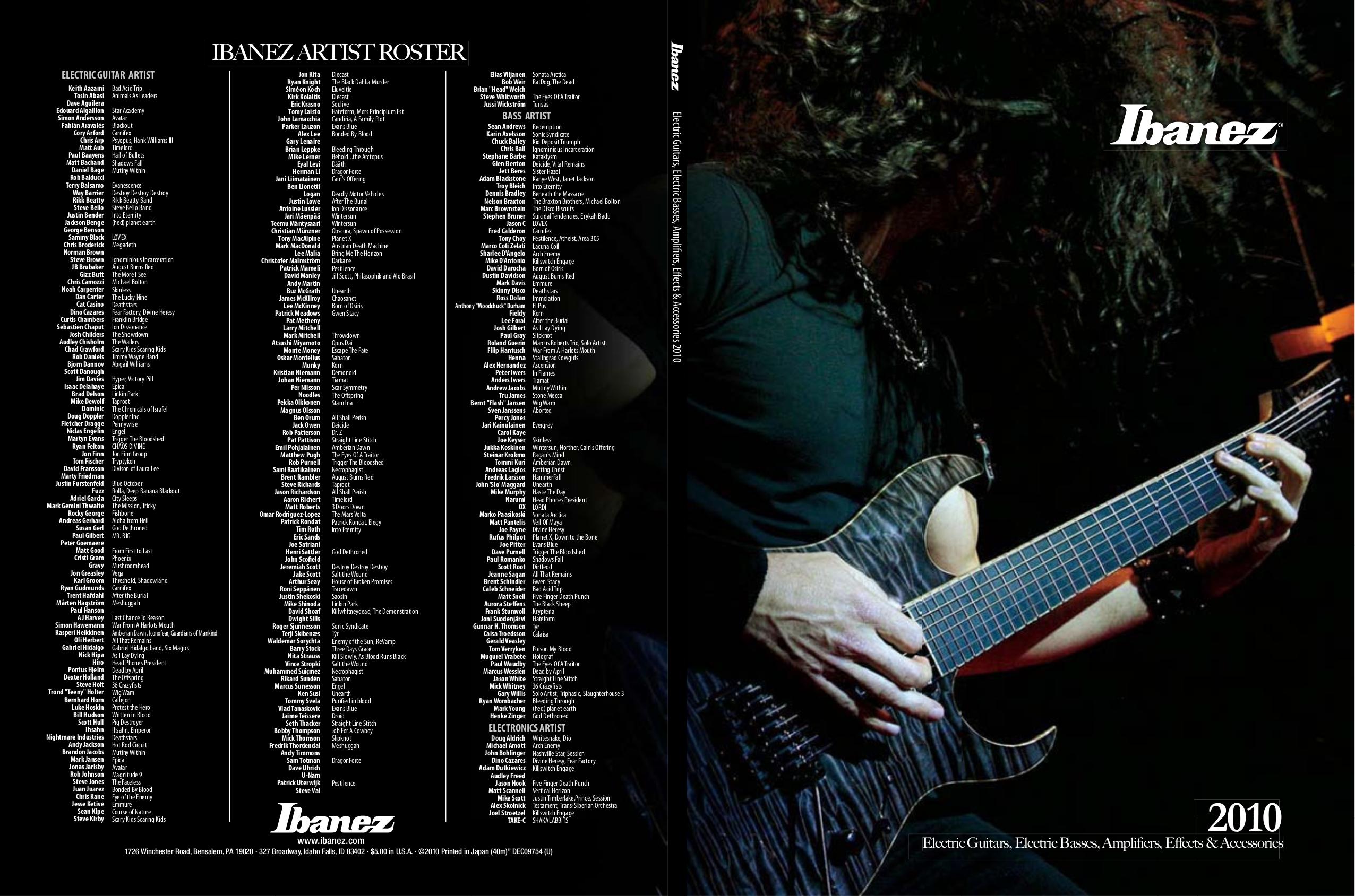Pdf Manual For Ibanez Guitar Gsa Series Gio Sa Series Gsa60