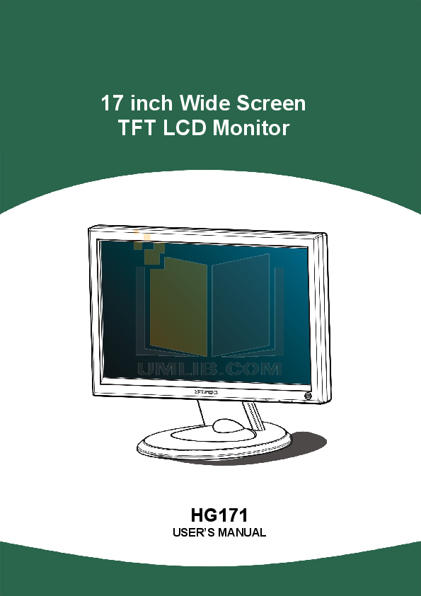 download free pdf for hannsg hg171 monitor manual rh umlib com hanns g monitor hg281d manual 19 Inch Hanns-G Monitor