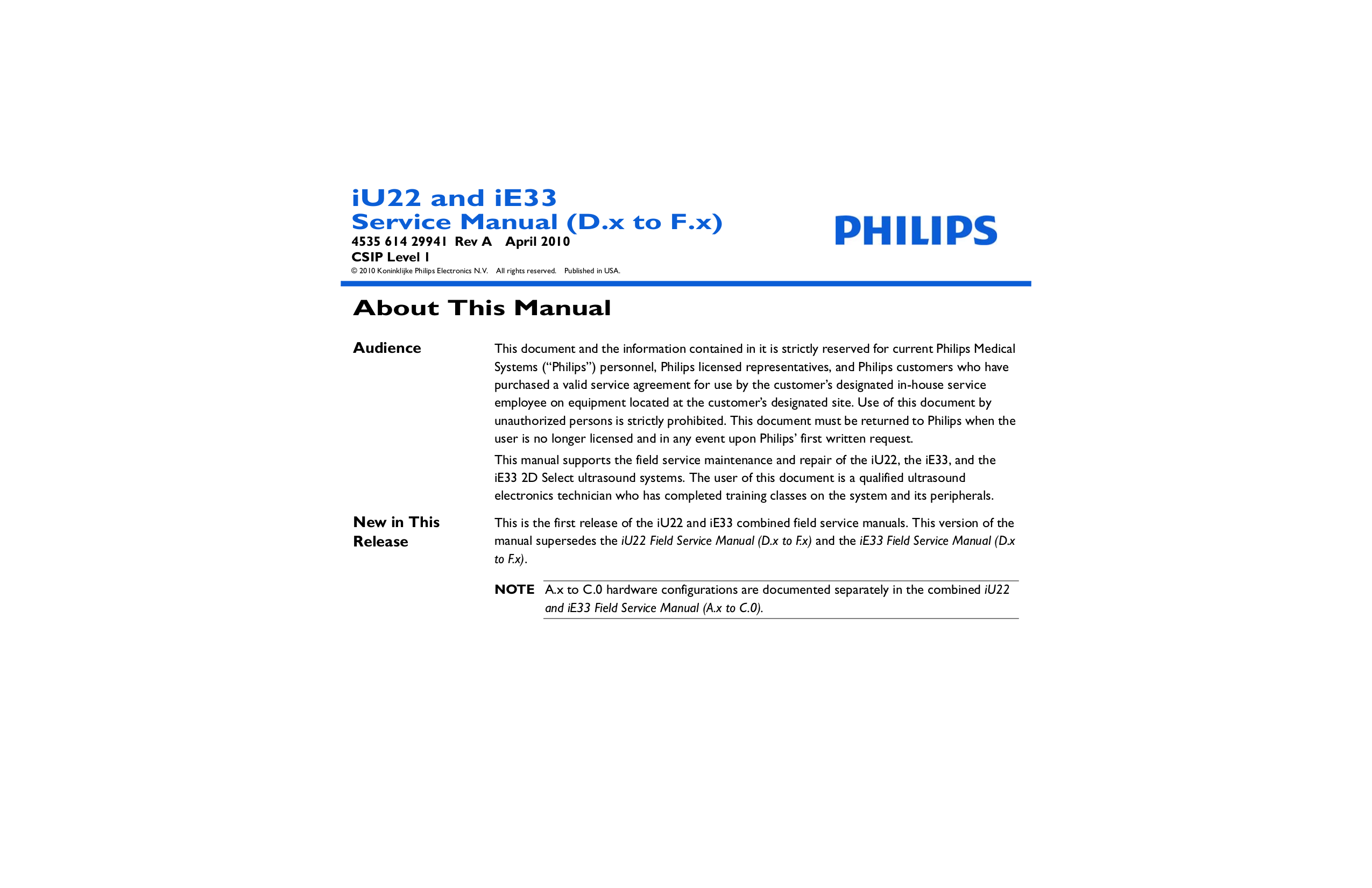 Maintenance tips for the philips iu22 youtube.