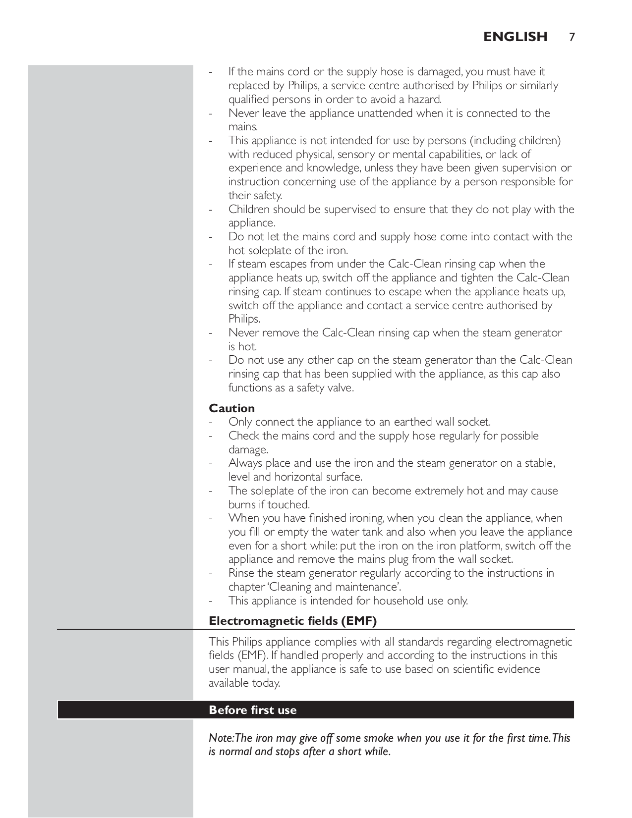 Sunbeam Other 3040 Iron pdf page preview