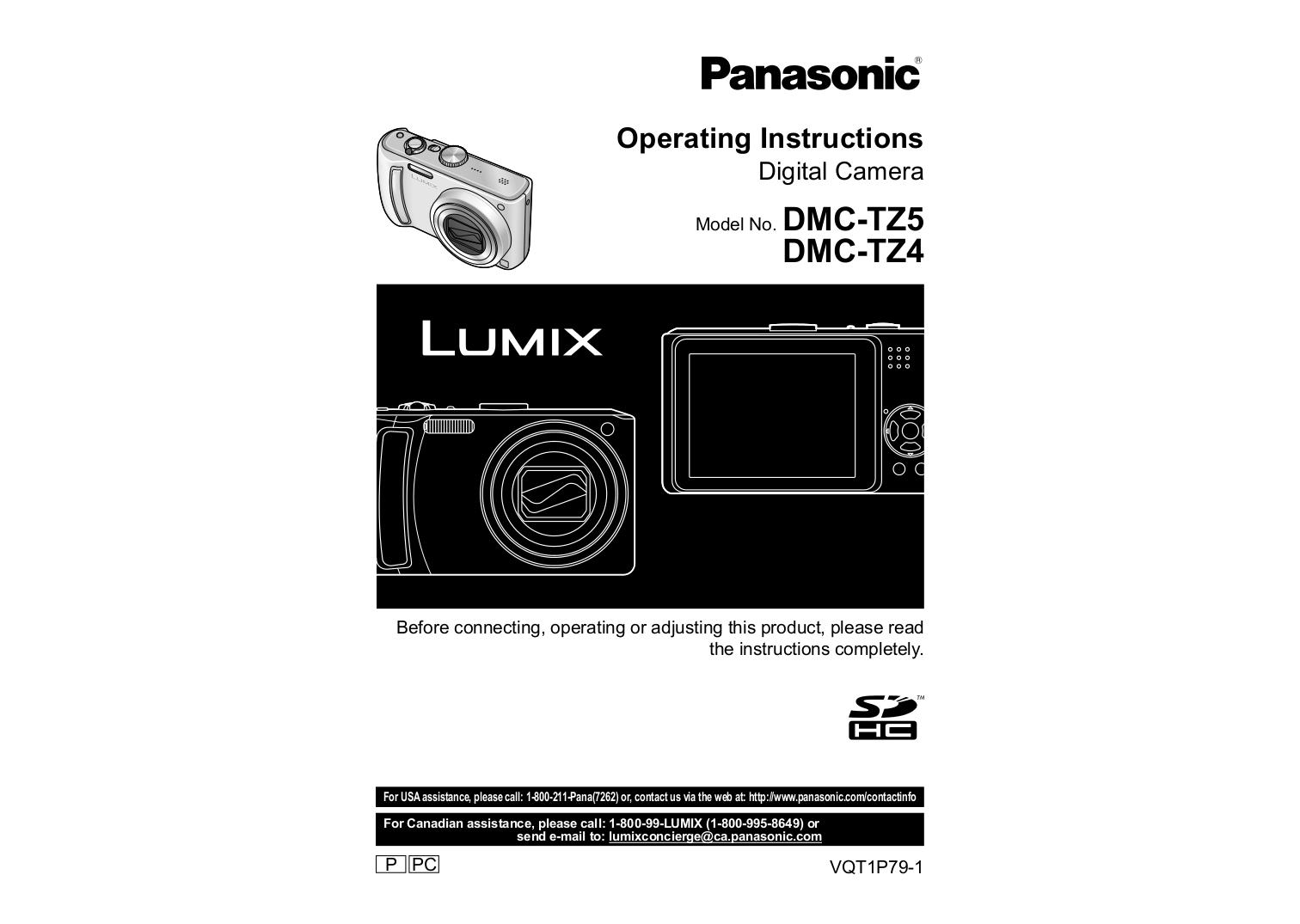 download free pdf for panasonic lumix dmc tz4 digital camera manual rh umlib com panasonic lumix tz5 mode d'emploi panasonic lumix dmc-tz5 manual