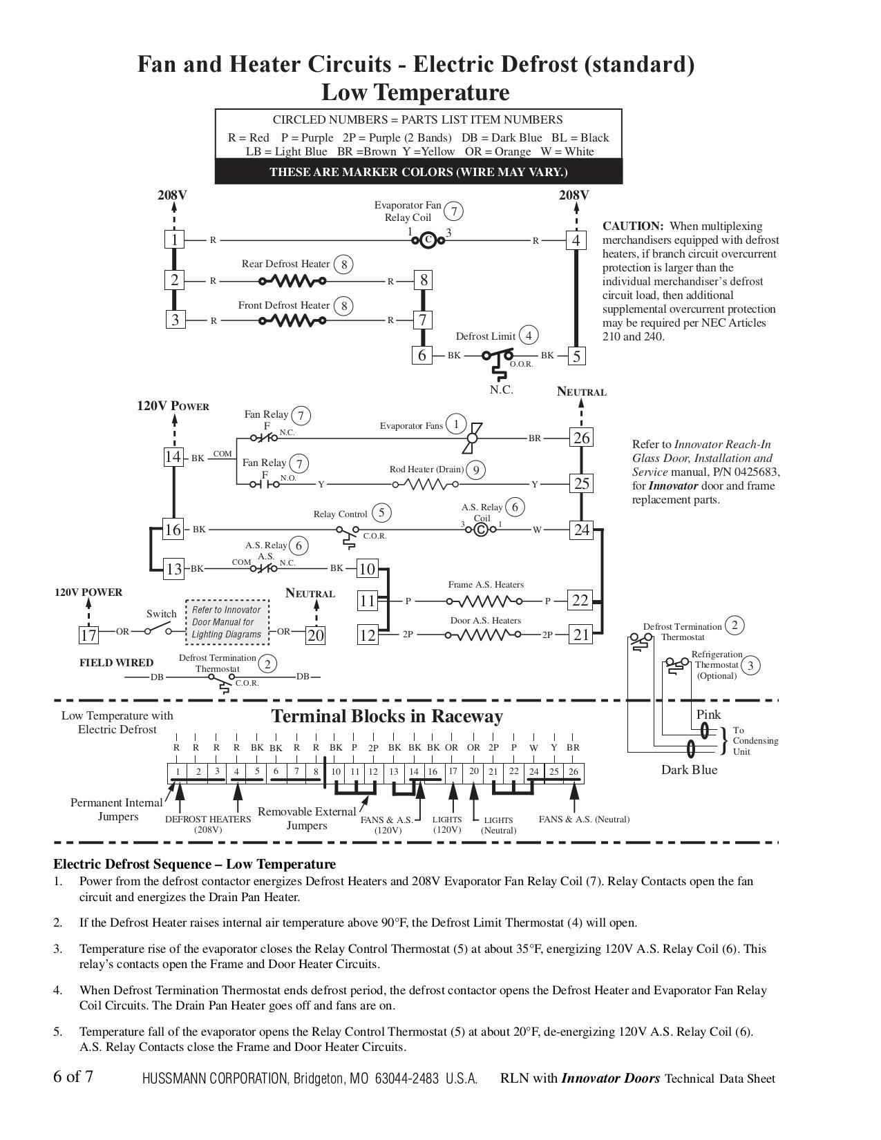 Hussmann Refrigerator Innovator II pdf page preview
