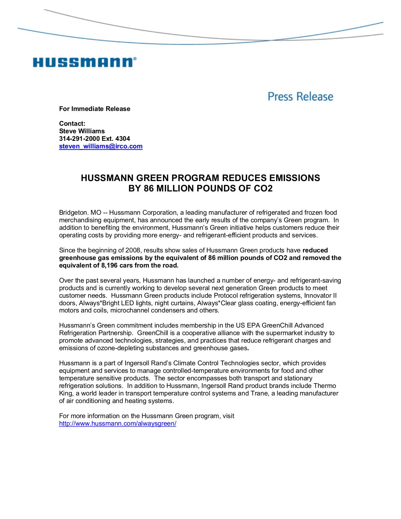 pdf for Hussmann Refrigerator Innovator II manual