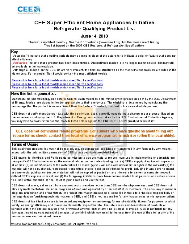 pdf for Frigidaire Refrigerator FFHI1817LS manual