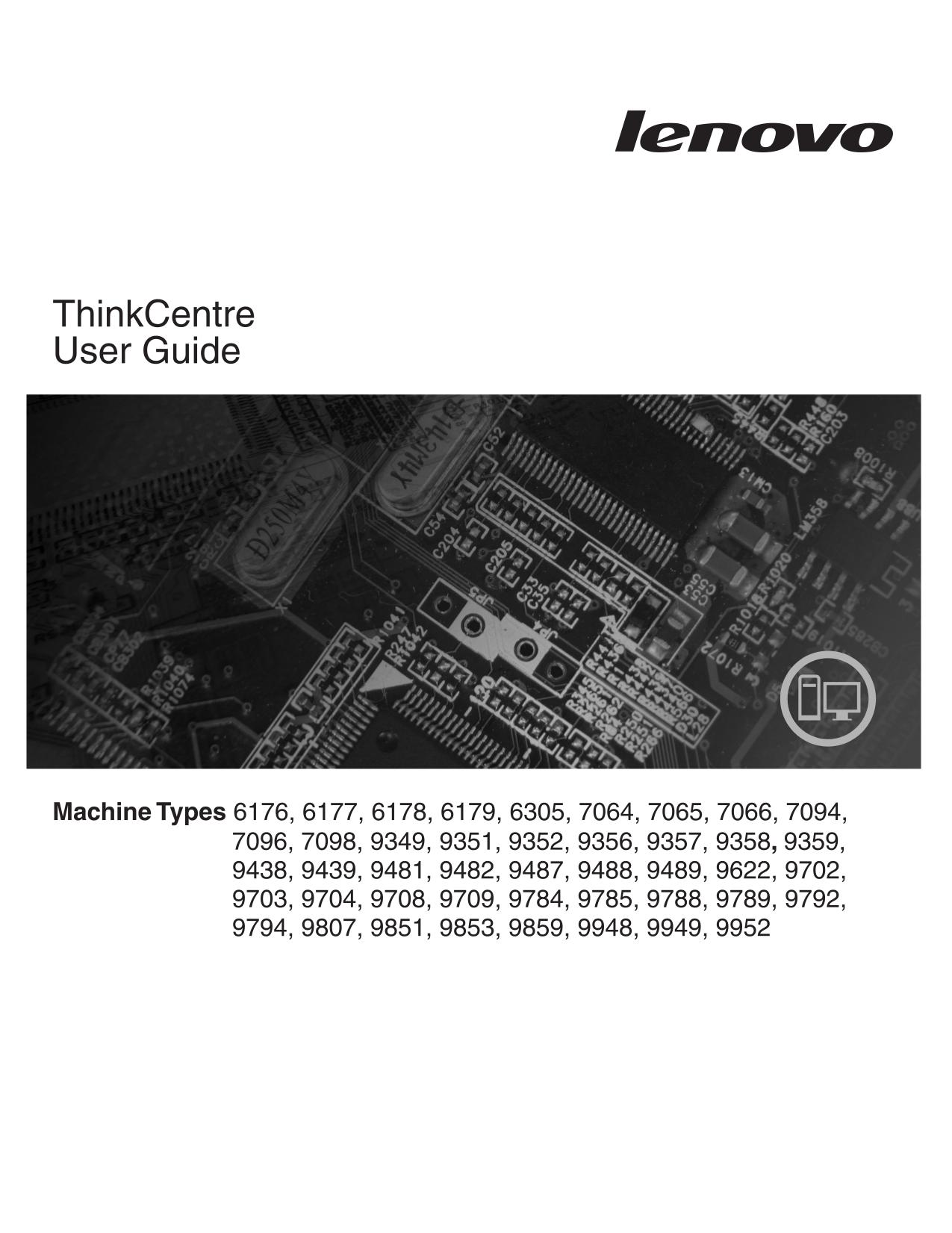 pdf for Lenovo Desktop ThinkCentre A57 9807 manual