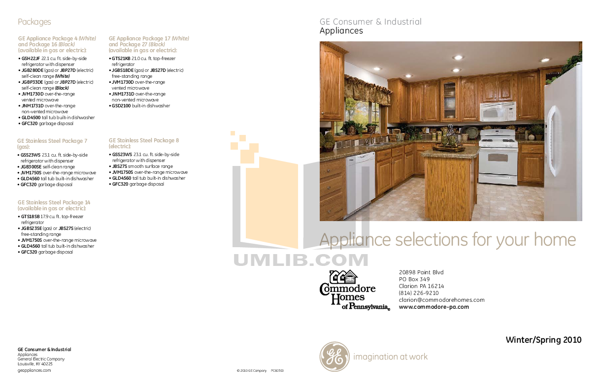 pdf for GE Dishwasher GLD4500N manual