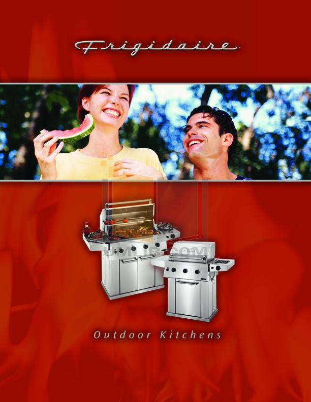 pdf for Frigidaire Grill FD26LKEC manual