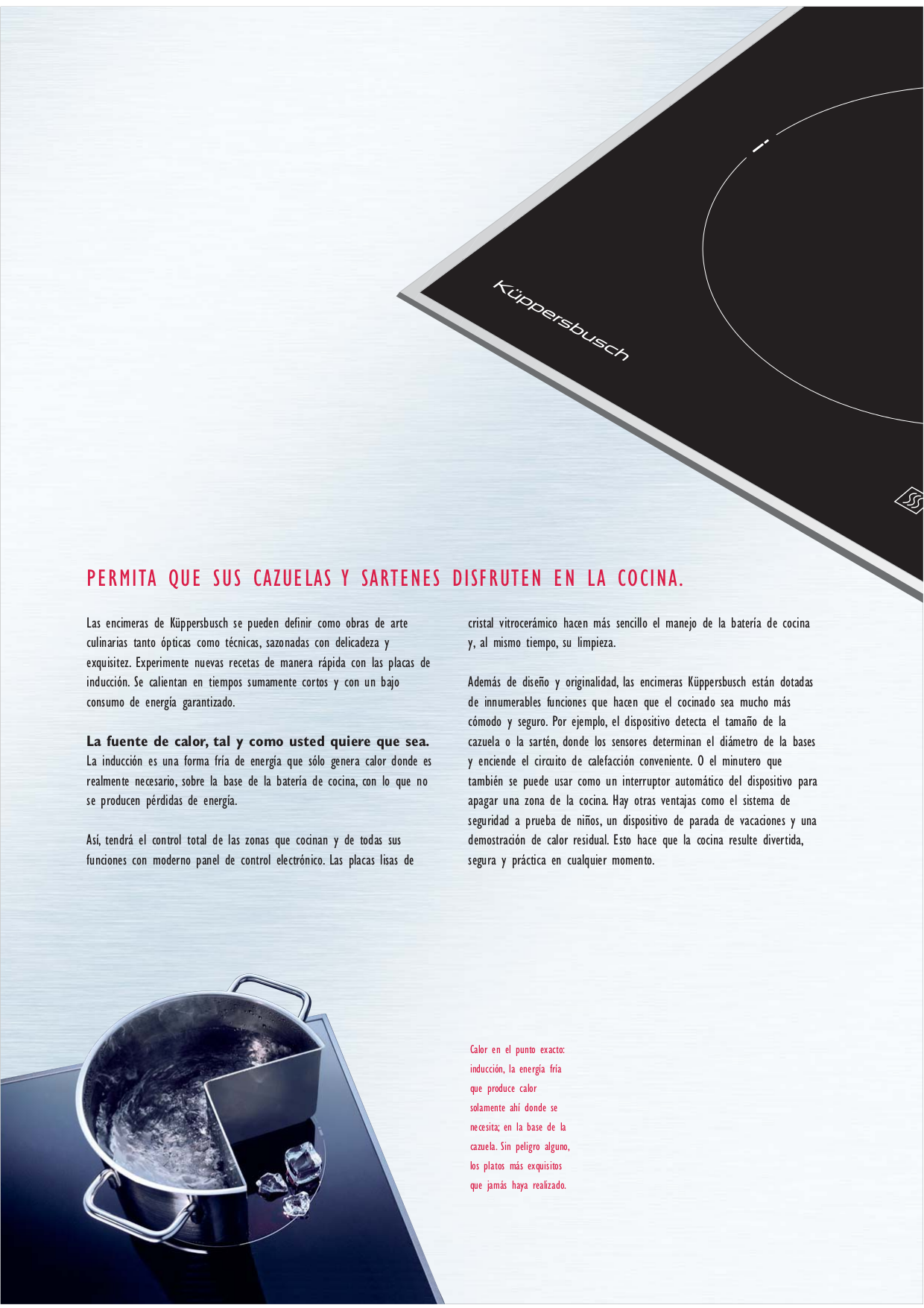 pdf for Kuppersbusch Range EKWH320.18 manual