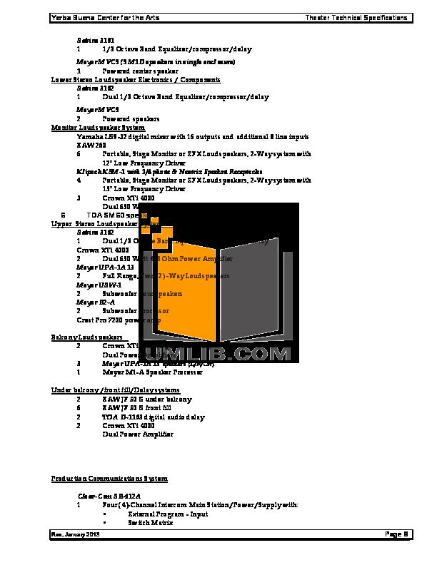 pdf manual for eaw speaker jf50s rh umlib com User Training User Guide Template