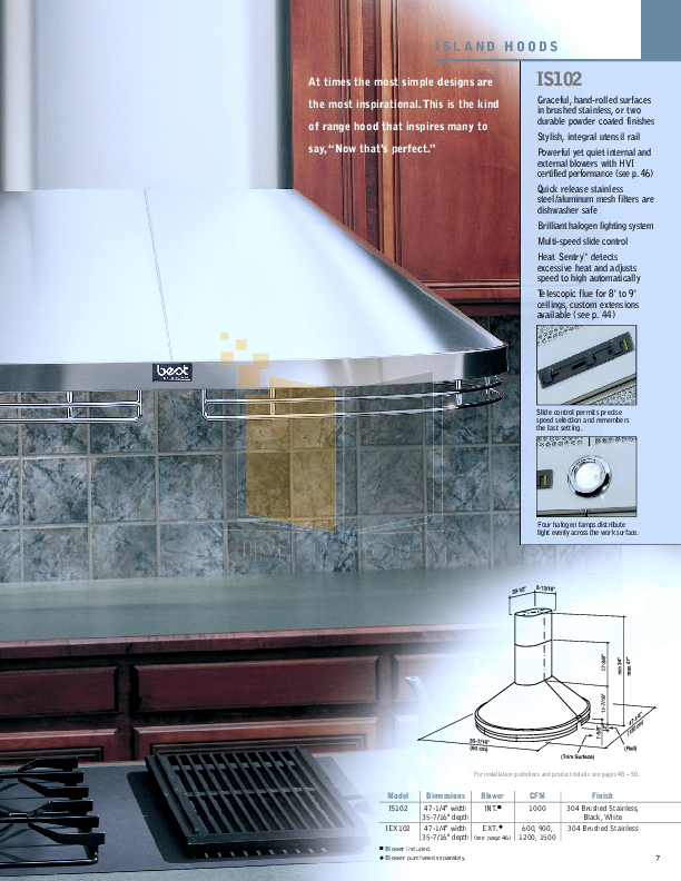 Broan-NuTone Other L2942 Hood Liners pdf page preview