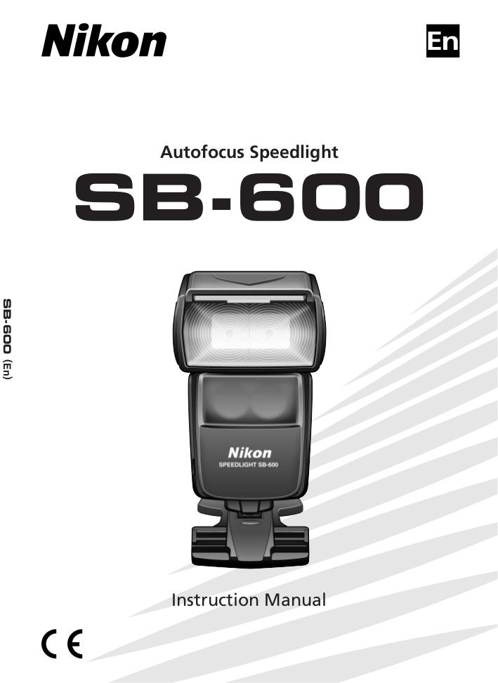 pdf for Nikon Other SB-80DX Camera Speedlights manual