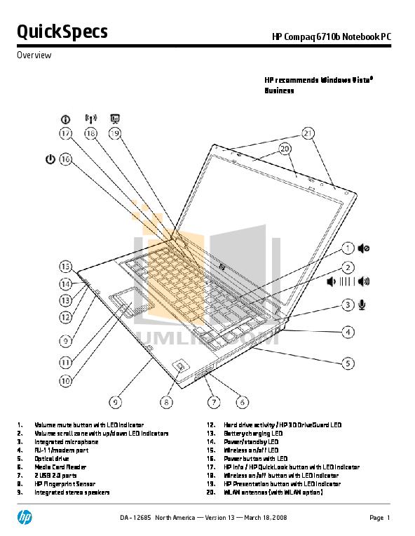 download free pdf for hp compaq 6710b laptop manual rh umlib com hp compaq 6710b maintenance service manual hp compaq 6710b manual pdf