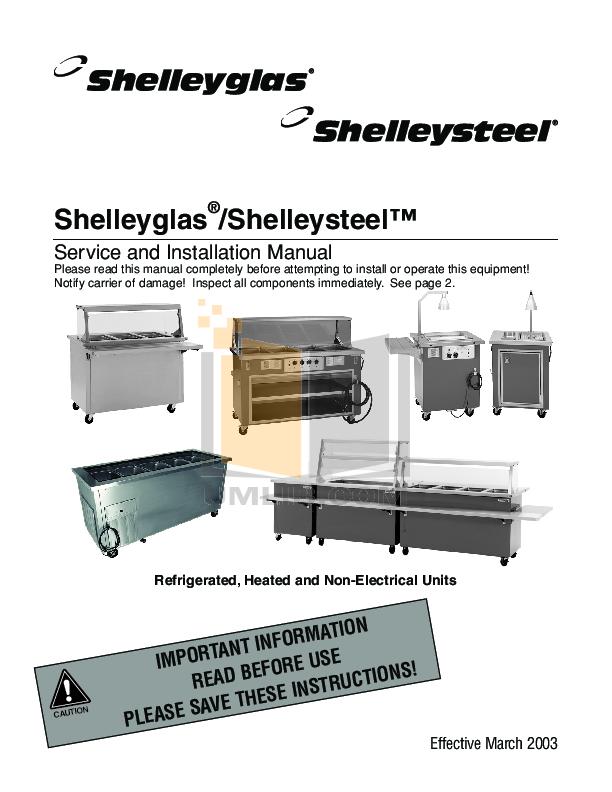 pdf for Delfield Refrigerator SCFT-50-NU manual