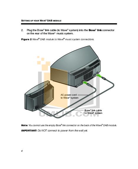 pdf manual for bose radio wave radio series iii rh umlib com Bose Wave Systems Enclosure Plans Bose Radio and CD Player