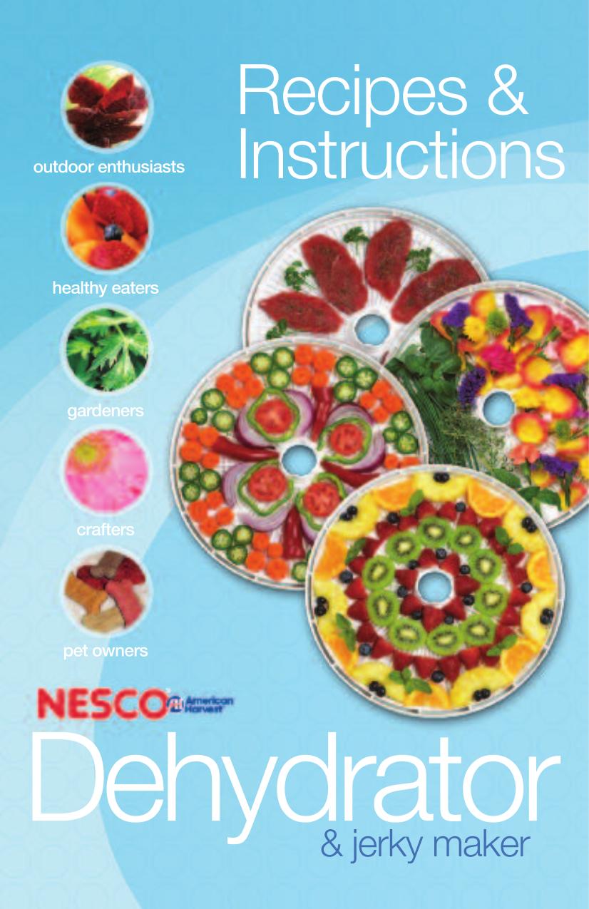 Nesco food dehydrator fd 1010 user manual by cassie schlau issuu.