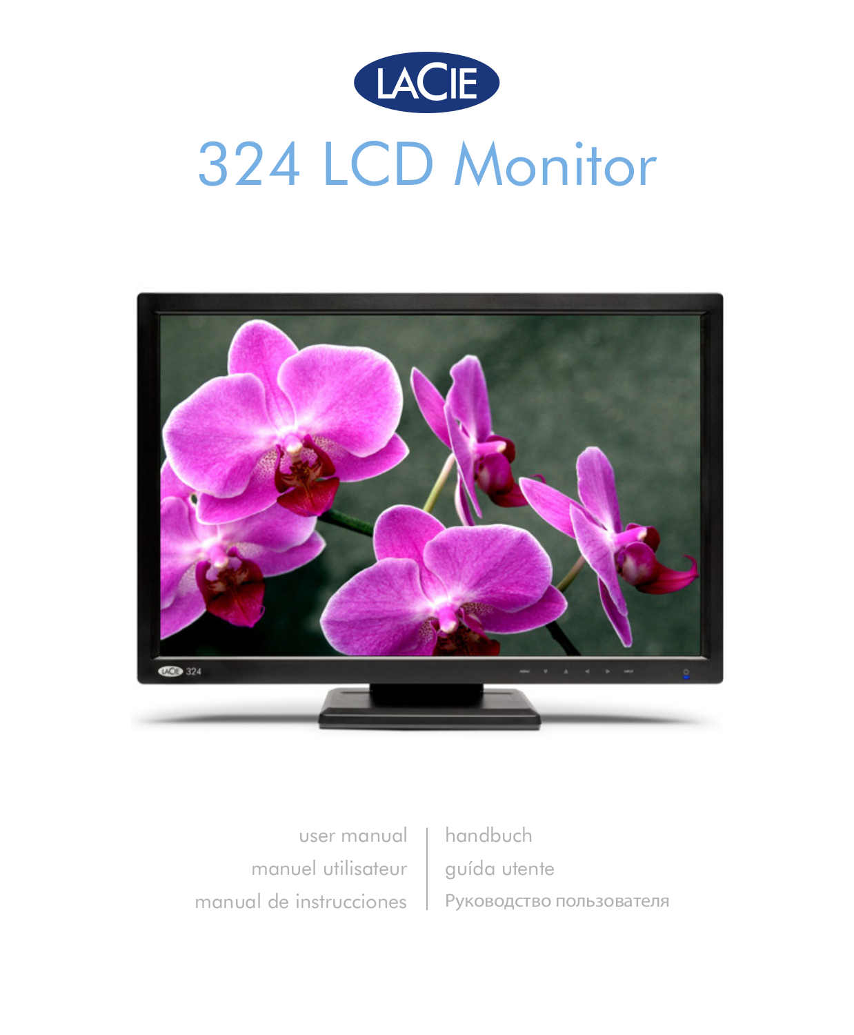pdf for LaCie Monitor 324 manual