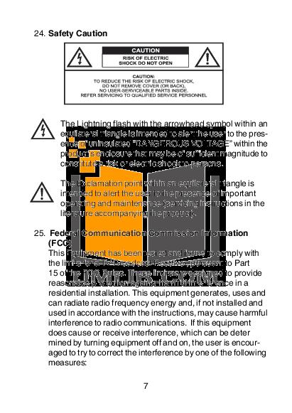 Audiovox TV D1210 pdf page preview