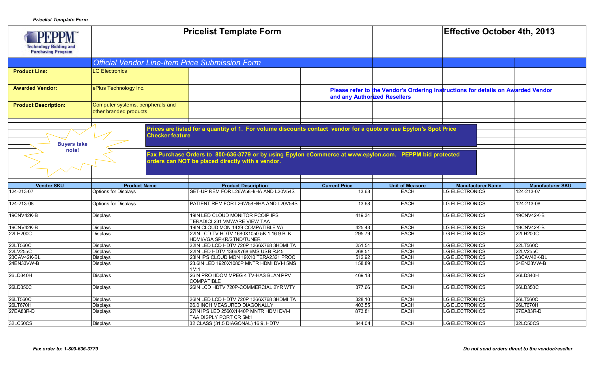 pdf for LG TV M3202C manual
