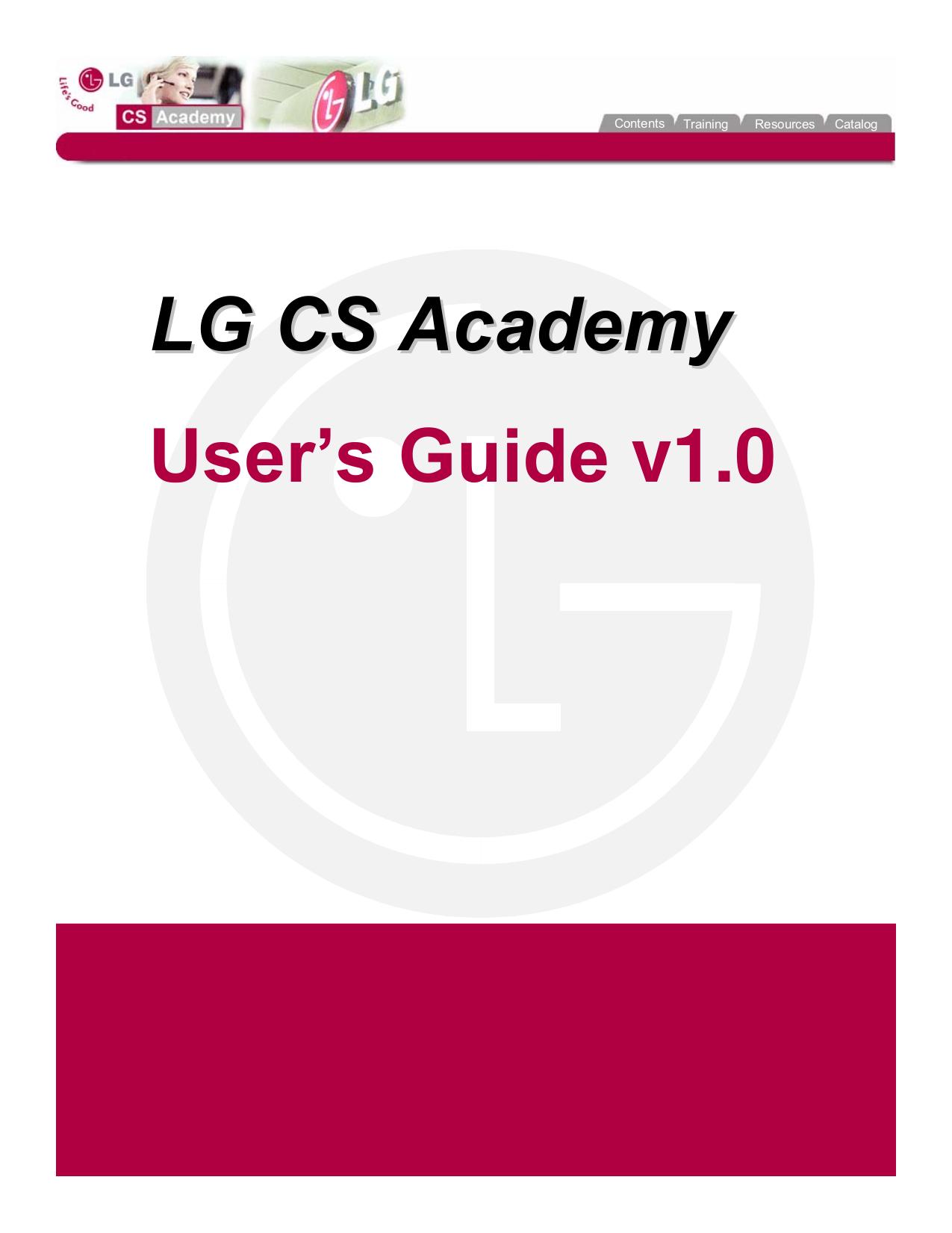 pdf for LG Monitor MU-42PZ90V manual
