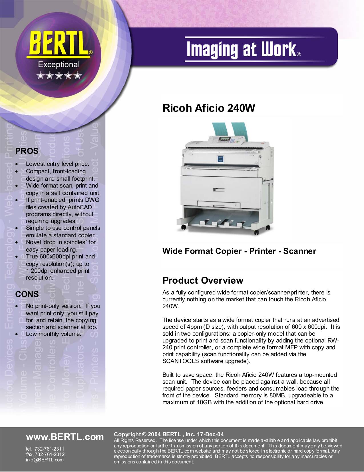 download free pdf for ricoh aficio 240w multifunction printer manual rh umlib com ricoh aficio 240w maintenance manual ricoh aficio 240w user manual